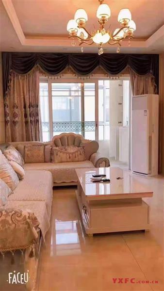誉珑湖滨一期6楼,85平米,2室2厅1卫,欧式装修,设施齐全,全天采光,证满,全