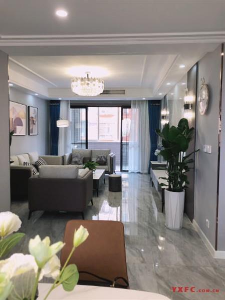 西花园五村3楼131平方3室2厅2卫精装176.8万