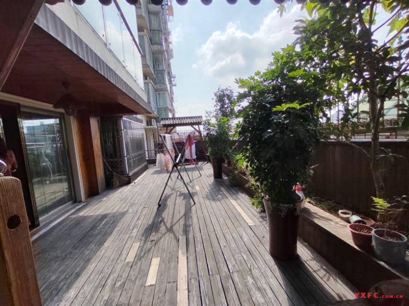 新天地花园,景观房,中层,带花园,产证155平方扩建50平方大花园,3室2厅2