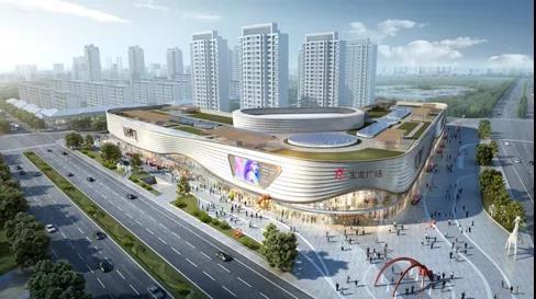 丁蜀新地标:宝龙光明城市综合体 雏形初具